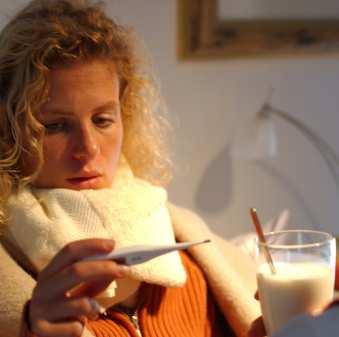 грип настинка болки в гърлото
