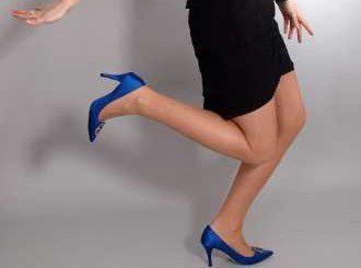 Високите токчета скъсяват мускули на крака