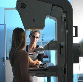 мамография рак на гърдата