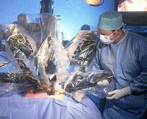 операция с робот Да Винчи