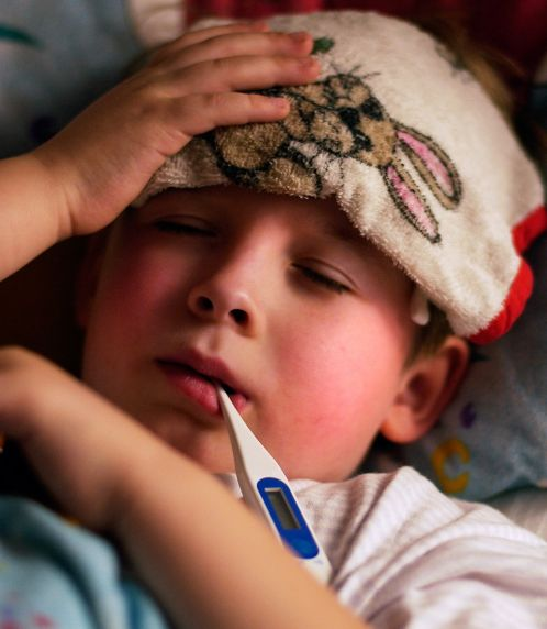 повишаване на имунитета болно дете