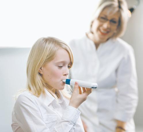 астма деца изследване