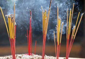 Горенето на ароматни пръчици е вредно за белия дроб