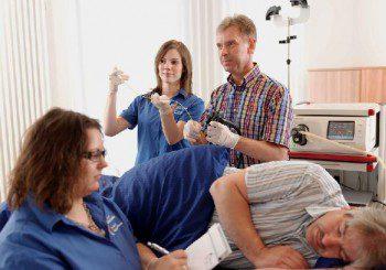Колко често се прави контролен преглед след рак на дебелото  черво, I стадий?