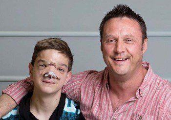 Сержант събра 100 000 лири и спаси дете без нос