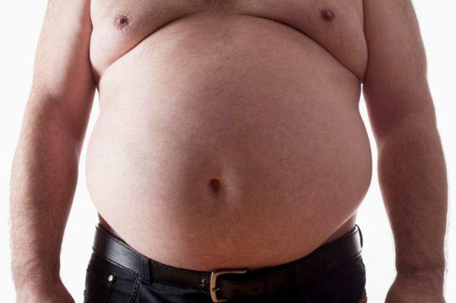 коремно затлъстяване напълняване