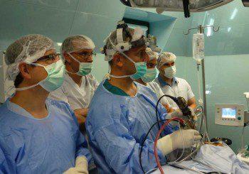 Оперират тумор в околоносните кухини без разрез