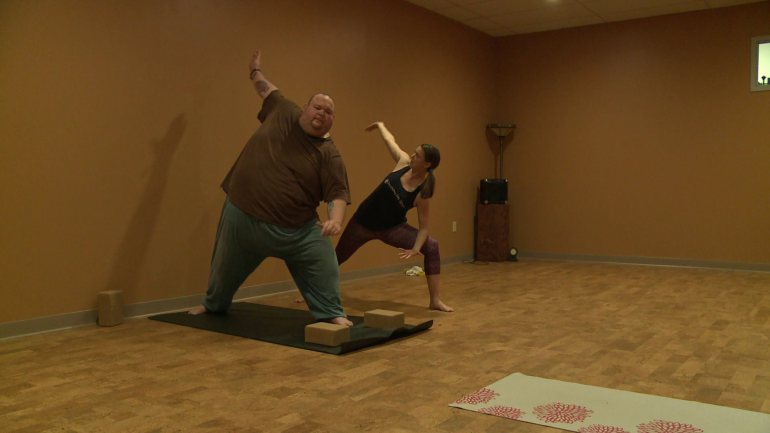 отслабване с йога