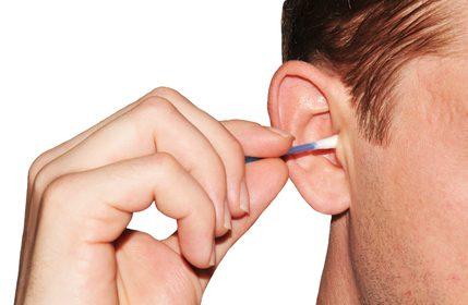 чистене на ушите заглъхване на ухото