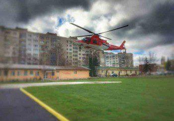 Возят пациенти и с хеликоптер в новото спешно отделение на Окръжна болница