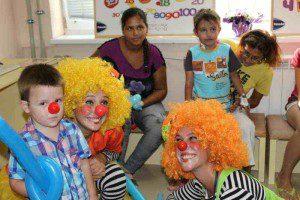 клоуни детска кардиология