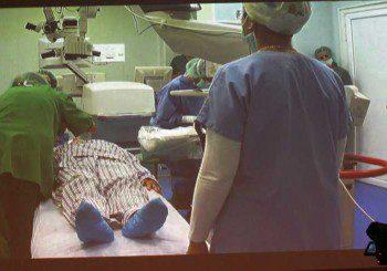 Нова операция при перде - сменят лещата, без да докосват окото