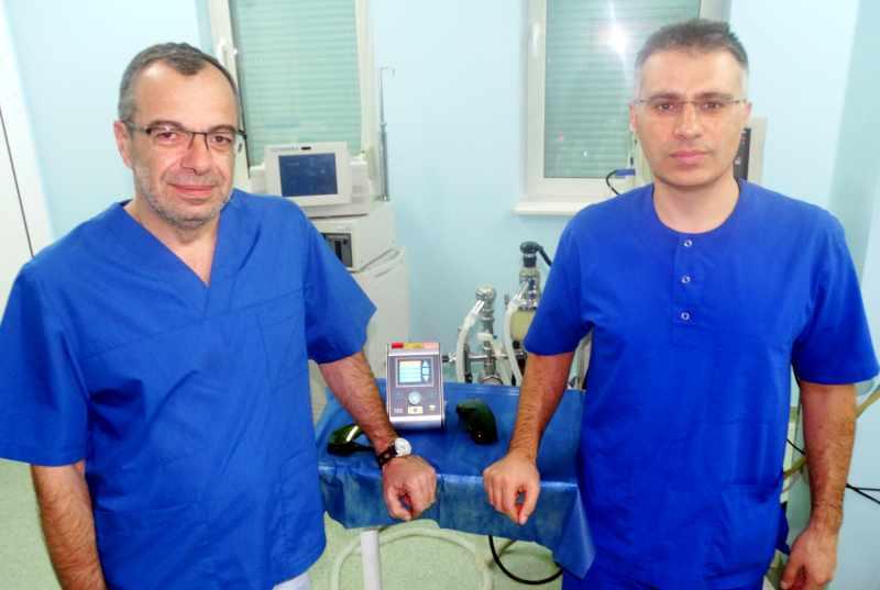 Д-р Даниел Петков и д-р Николай Иванов