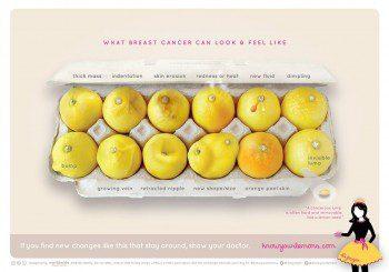 Ето как може да изглеждат симптомите при рака на гърдата