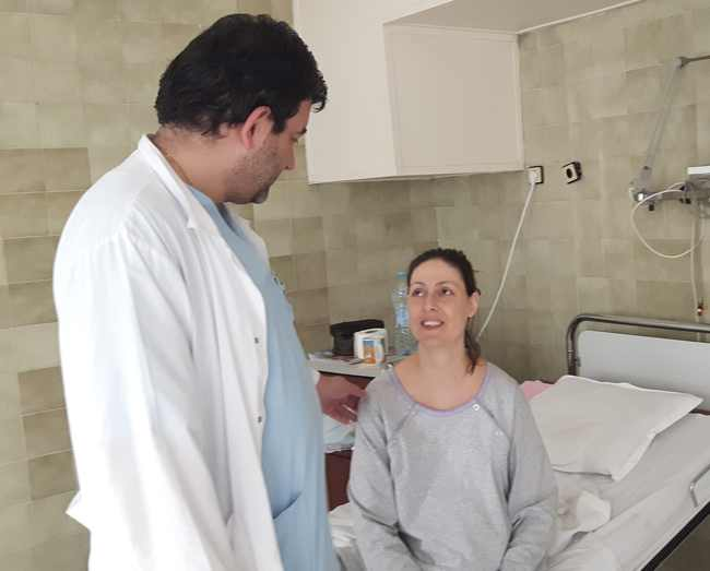 спасена родилка и бебе в Бургас