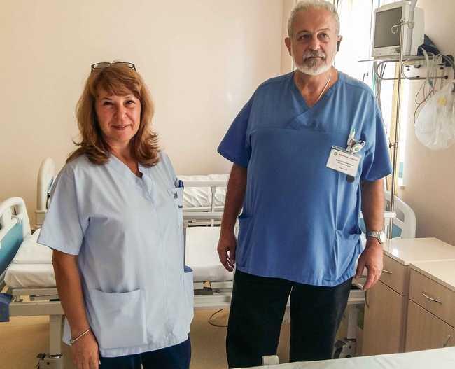 д-р Елена Каранджулова, д-р Стоян Лекушев