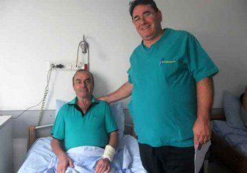 Модерен метод спасява хрущяла на коляното при 71-годишен мъж