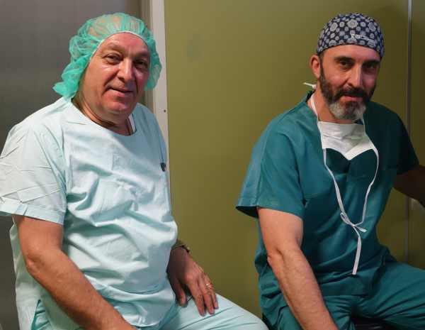 д-р Калоян Давидов и проф. Корал