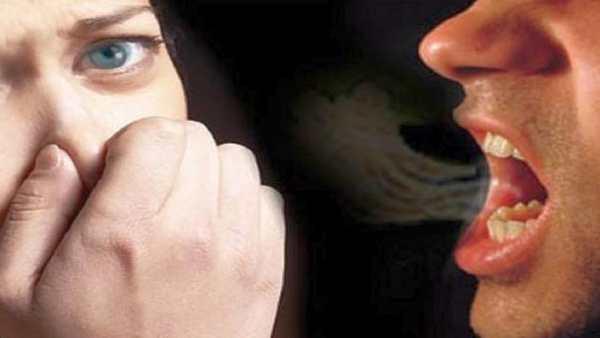 лош дъх от устата халитоза
