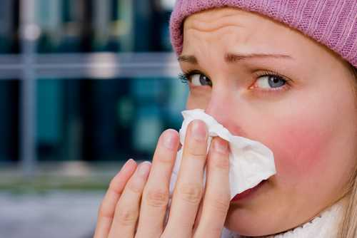 запушен нос хрема