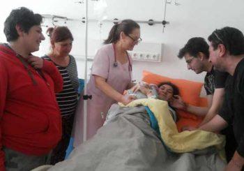 Жена с церебрална парализа роди успешно момченце