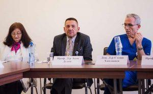 проф. Асен Дудов и доц. Стоян Ханджиев