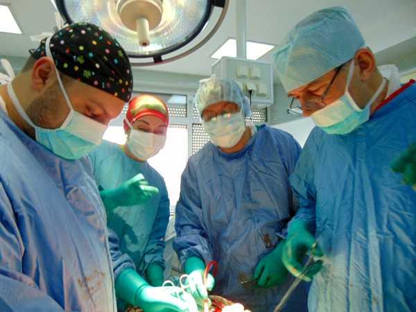 тумор на бъбрека операция