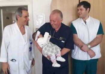 Спасиха бебе с рядка аномалия - коремът притиска сърцето