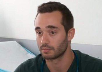Млад лекар рискува работата си, за да помогне да пострадал човек