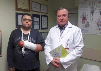 Уникална операция на китка в Пирогов спаси ръката на млад мъж