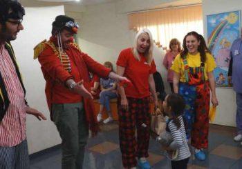Клоун терапия помага за лечението на деца в Пловдив
