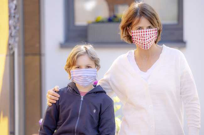 предпазна маска коронавирус
