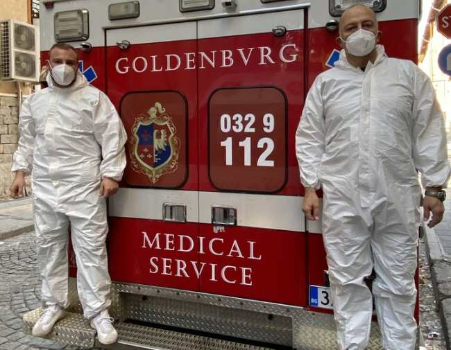 Goldenburg Medical Service частна линейка